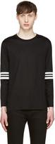 Giuliano Fujiwara Black Insert T-Shirt