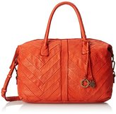 Lucky Brand Shiloh Satchel Leather Top Handle Bag
