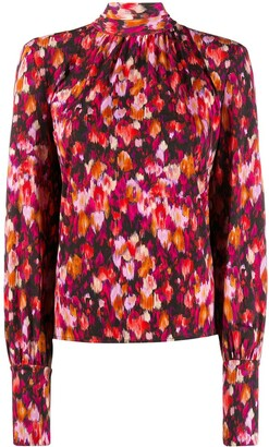 Patrizia Pepe Floral Print Blouse