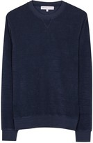 Orlebar Brown Pierce Navy Terry Sweatshirt