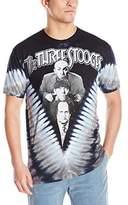 Liquid Blue Men's Three Stooges V T-Shirt