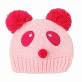 SODIAL(R) Baby Girls Boys Kids Knit Cap Winter Warm Hat .