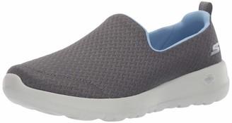 Skechers Women GO Walk Joy-Rejoice Sneaker Charcoal/Blue 5.5 W US