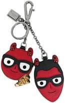 Dolce & Gabbana devil face keyring