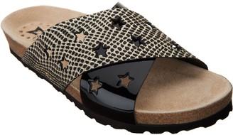 Mephisto Star Leather Cross-Band Sandals - Nanou