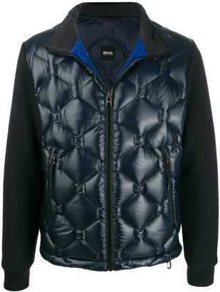 HUGO BOSS quilted down jacket