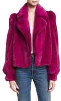 Co Cropped Mink Fur Jacket