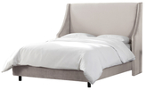 Skyline Furniture Swoop Arm Wingback Bed