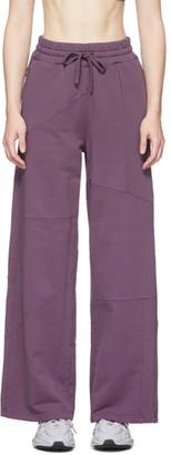 Danielle Cathari Purple Decontructed Lounge Pants