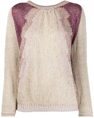 Forte Forte Relaxed-Fit Panelled Jumper