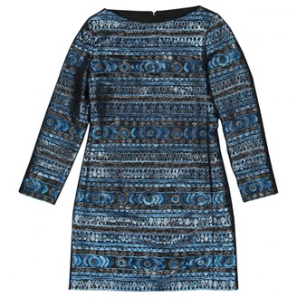 Vanessa Seward Blue Viscose Dresses