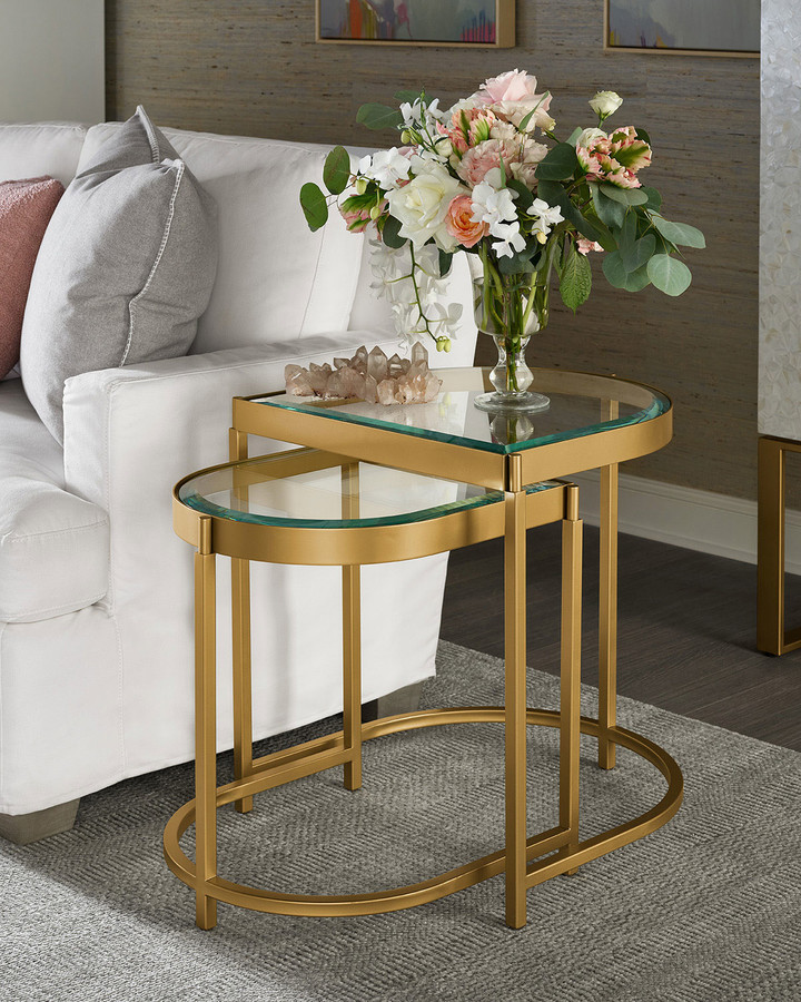 Glass Nest Of Tables Shop The World S Largest Collection Of Fashion Shopstyle Canada