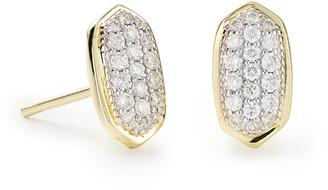 Kendra Scott Amelee Pave Diamond Stud Earrings