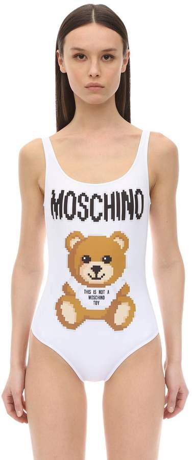 5ac7abd4ec7972 Moschino One Piece Swimsuits - ShopStyle