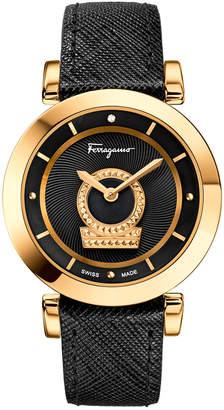 Salvatore Ferragamo Women's Minuetto Diamond Watch