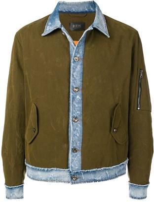 Overcome military denim jacket