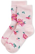Petit Bateau Girls socks with floral motif