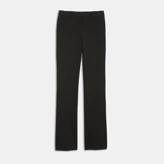 Theory Relaxed Straight Pant in Stretch Wool