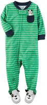 Carter's Baby Boy Striped Footed Pajamas