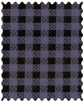 Camilla And Marc SheetWorld & Black Gingham - Woven Fabric - By The Yard - 101.6 cm (44 inches)