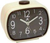 Infinity Instruments 70's Alarm Clock with Glow in the dark hands