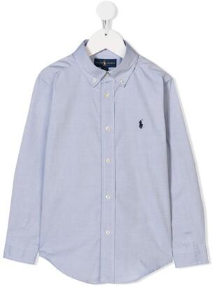 Ralph Lauren Kids long sleeve shirt