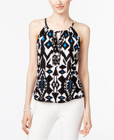 INC International Concepts Keyhole Halter Top, Created for Macy's