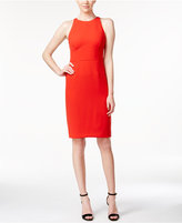 Calvin Klein Sleeveless Halter Sheath Dress