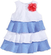 Marmellata Tiered Eyelet & Seersucker Dress, Baby Girls (0-24 months)
