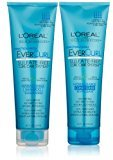 L'Oreal EverCurl Hydracharge Shampoo, 8.5 Fluid Ounce & EverCurl Hydracharge Conditioner, 8.5 Fluid Ounce