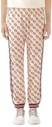 Gucci Loose Printed Jogging Pants