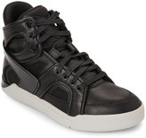 Diesel Black Tempus Titann High Top Sneakers
