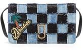 Marc Jacobs Women's Paradise Crossbody Wallet - Blue