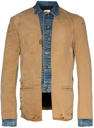 Greg Lauren Ollie deconstructed jacket