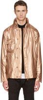 Helmut Lang Copper Tyvek Combat Jacket