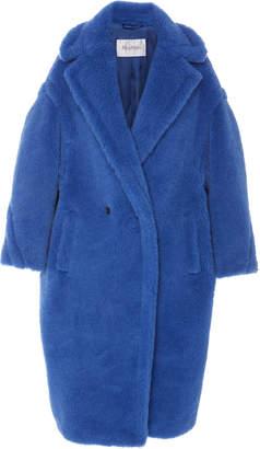 Max Mara Tedgirl Oversized Alpaca and Wool-Blend Coat