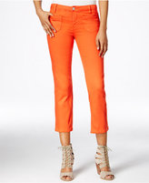 Sanctuary Cropped Flared Wash Jeans