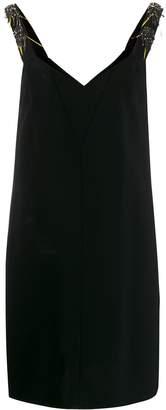 Schumacher Dorothee V-neck crystal dress