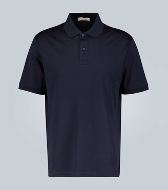 Bottega Veneta Cotton-pique polo shirt