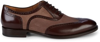 Mezlan Cantone Suede & Leather Oxfords