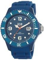 Ice Watch Ice-Watch Men's Ice-Winter SW.DB.B.S.11 Silicone Quartz Watch with Dial