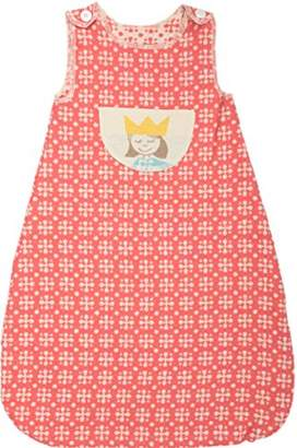 Camilla And Marc David Fussenegger Flannel Sleeping Bag Up To 1 Year Princess, Cotton Blend, Red, 70 x 30 cm
