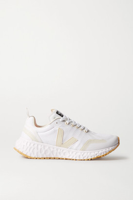 Veja Condor Rubber-trimmed Mesh Sneakers - White