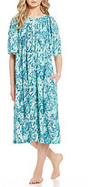 Go Softly Crinkled Paisley Patio Dress