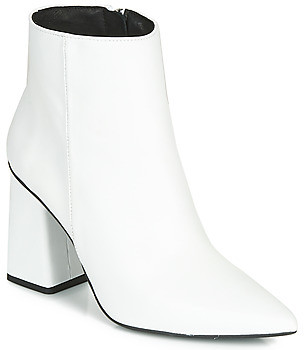 Fericelli LUDIVINE women's Low Ankle Boots in White
