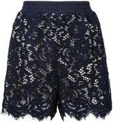 Goen.J - side panel shorts - women - Cotton/Nylon/Bemberg - S