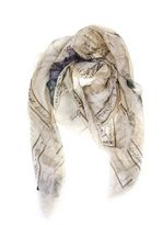 Alexander McQueen Letter From India Scarf
