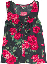 Cath Kidston Ardingly Rose Viscose Twill Top