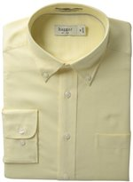 Haggar Men's Regular-Fit Pinpoint Oxford Solid Dress Shirt