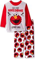 Sesame Street Toddler Boys' Elmo 2-Piece Pajama Set